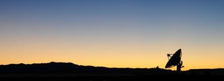 射电天文学观测所 免版税库存图片