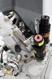 射线集中的离子 免版税库存照片