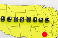 射击在得克萨斯 免版税库存照片