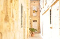 射击在马耳他 免版税库存照片