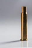 射击空的枪壳 免版税库存照片