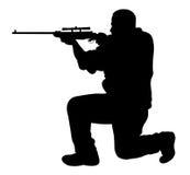 射击者 免版税库存图片