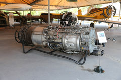 1963将军Elecrtic J79涡轮喷气引擎 免版税库存图片