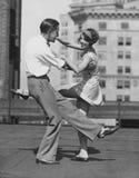 将我们跳舞(所有人被描述不更长生存,并且庄园不存在 供应商保单将没有模型 免版税库存图片