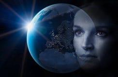 将来的世界 免版税库存照片