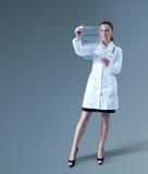将来的医学 图库摄影