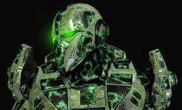 将来的战士 库存照片