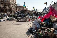 尊严革命在Kyiv,乌克兰 免版税库存图片