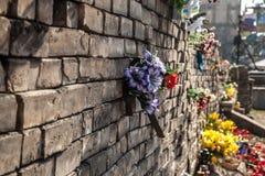尊严革命- Euromaidan基辅,乌克兰 图库摄影
