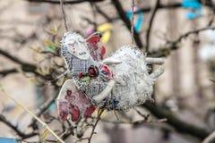 尊严革命- Euromaidan基辅,乌克兰 免版税库存图片