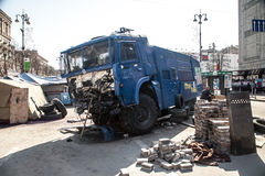 尊严革命Euromaidan -基辅,乌克兰 库存照片