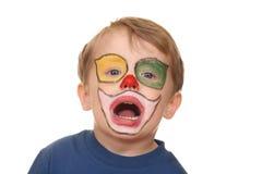 小丑一点 免版税库存图片