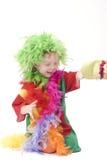 小丑一点 免版税图库摄影