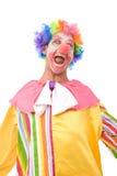 小丑五颜六色滑稽 免版税库存照片
