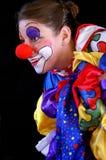 小丑五颜六色质朴 免版税库存图片