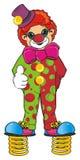 小丑和春天 免版税库存图片