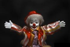 小丑嘿说 库存图片