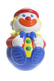 小丑多roly玩具 图库摄影