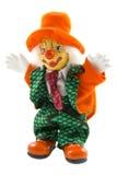 小丑愉快的桔子 免版税库存照片