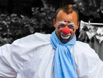 小丑构成微笑 库存图片