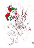 小丑梦想s 库存图片