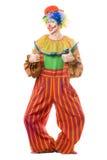 小丑滑稽微笑 库存照片