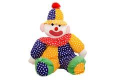 小丑玩偶旧布 免版税库存照片