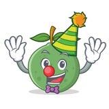 小丑番石榴吉祥人动画片样式 免版税库存照片