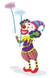 小丑系列 免版税库存照片