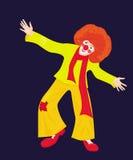小丑红色 库存照片