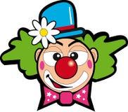 小丑花 库存例证