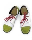 小丑鞋子 免版税库存照片