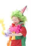 小丑ii一点 免版税图库摄影