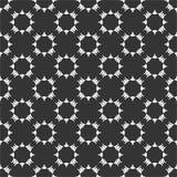 小主题重复了圈子样式在黑n丝毫的传染媒介例证 向量例证