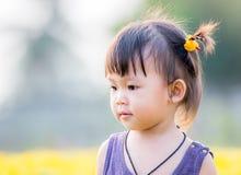 小亚裔女孩 图库摄影