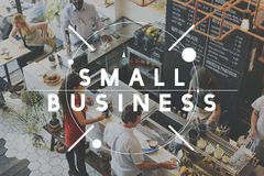 小企业公司发展想法起动概念 免版税库存照片