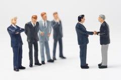 小企业的合伙企业 免版税库存图片