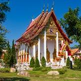 小佛教寺庙在普吉岛泰国 免版税库存照片