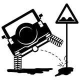 小便2的越野汽车 库存照片