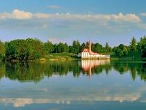 小修道院宫殿在Gatchina 免版税库存照片