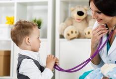 小儿科医疗概念 库存图片