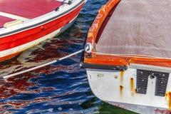 小充气救生艇 免版税图库摄影