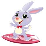 小兔海浪 免版税库存图片