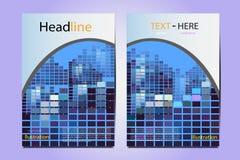 小册子例证结构几何传染媒介设计 免版税库存图片