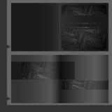 小册子模板设计。 图库摄影