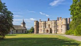 小农场城堡, Herefordshire,英国 免版税库存图片