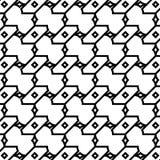 小几何样式 免版税库存图片