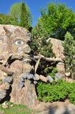 小动物园和一个童话 免版税库存照片
