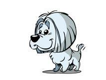 小动画片的狗 向量例证