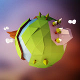 小动画片世界 免版税图库摄影